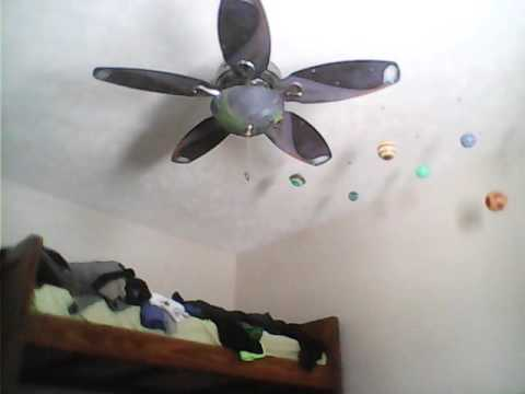 Hunter Discovery Ceiling Fan - YouTube