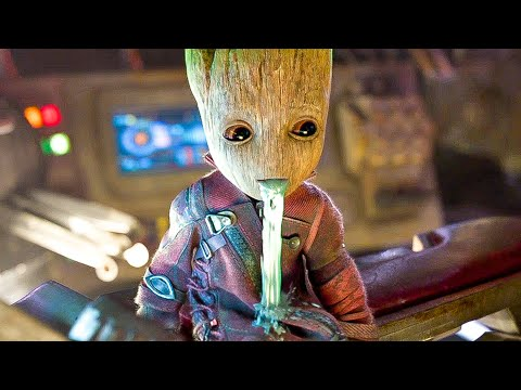 GUARDIANS OF THE GALAXY 2 Best BABY GROOT Movie Clips (2017)