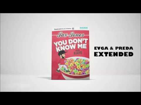 Jax Jones Ft. Raye - You Don't Know Me (Evga & Preda Extended)