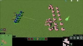 Roblox RTS Unità Attacco Aggiornamento