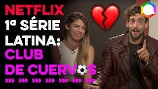 Videocast Entrevista com elenco de Club de Cuervos