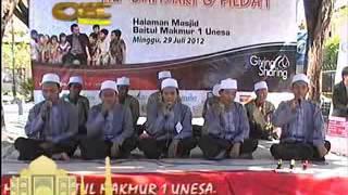 Panji Kinasih (Zahirul Murob UNESA) Festival banjari di UNESA