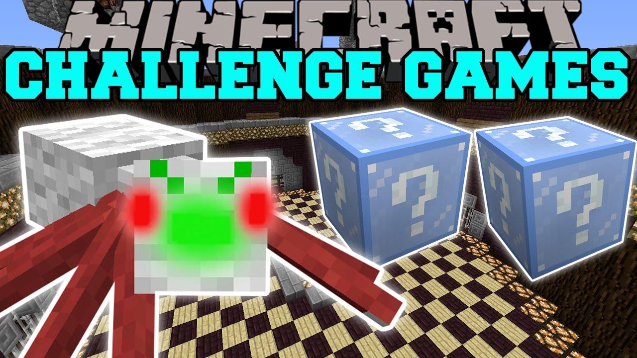 Minecraft: CHRISTMAS SPIDER CHALLENGE GAMES - Lucky Block Mod ...