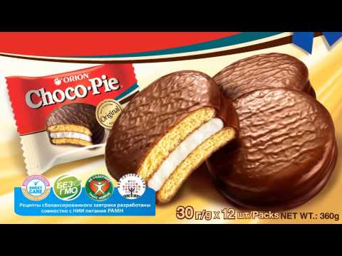 Orion Choco Pie TVC New pack Mix 10 sec 10 01 14