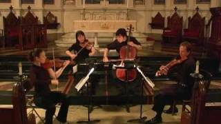 Attacca Quartet plays Haydn Op. 20 no. 4 - First Movement