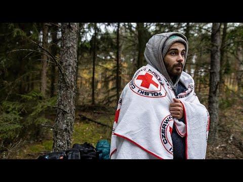 شاهد: مهاجر لبناني عالق عند الحدود البولندية مع بيلاروس.. ضياع ويأس وخوف