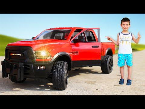 Пикап Bruder Dodge Ram 2500 Power Wagon и другие машинки Брудер | Toys 2 Boys