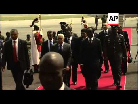 WRAP Ouattara's prime minister Soro on situation ADDS ECOWAS presidents arrive