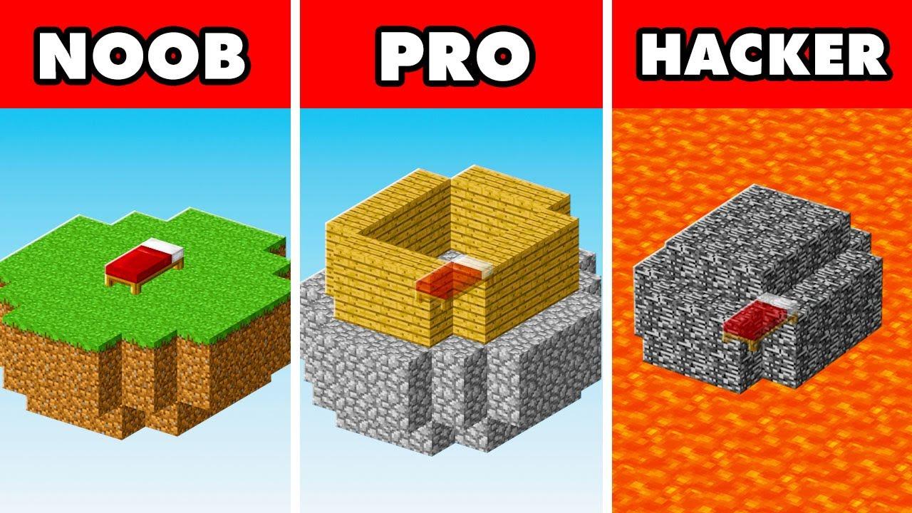 Noob vs. Pro vs. Hacker : BEDWARS CHAMPION VICTORY CHALLENGE! In Minecraft Animation