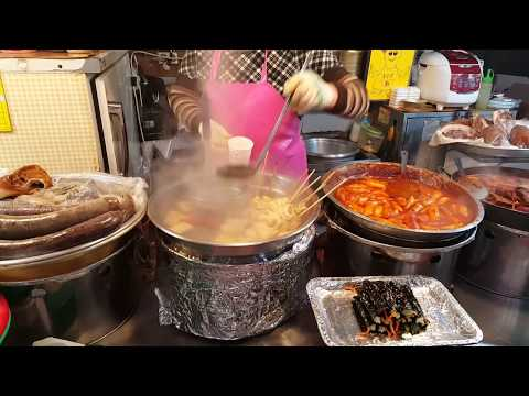 Korean Street Food at Gwangjang Market
