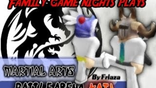 Family Game Nights Plays: Roblox - Martial Arts Battle Arena (PC)