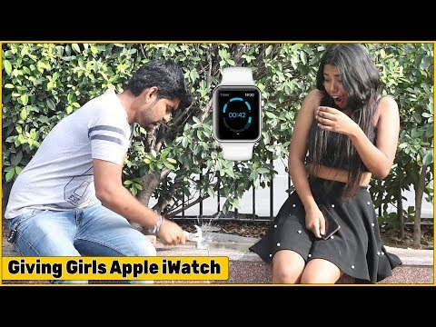 Breaking Girls Watch, Then Giving Them Apple iWatch - Ft. Tehelka Prank | The HunGama Films
