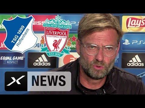 CL-Quali: Jürgen Klopp über TSG Hoffenheim und Transfer-Romantik   Hoffenheim - Liverpool