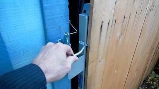 Build A Nice Adjustable Cedar Gate.