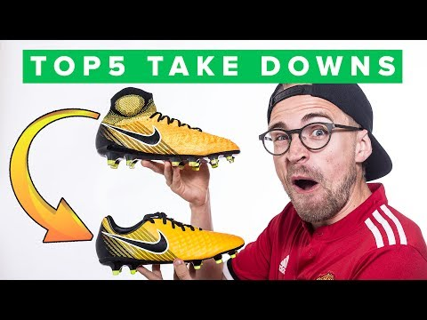 TOP 5 TAKE DOWN BOOTS - get one of these cheap football boots