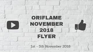 Oriflame November 2018 Flyer || Oriflame November 2018 Offers