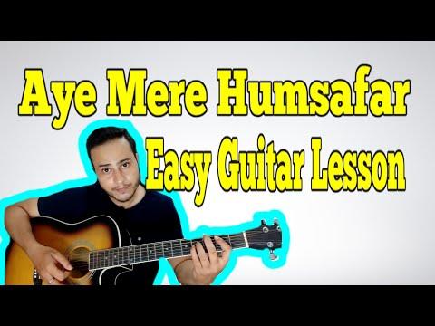 Aye Mere Humsafar Guitar Tutorial | Easy Guitar Lesson | VGuitarLearning