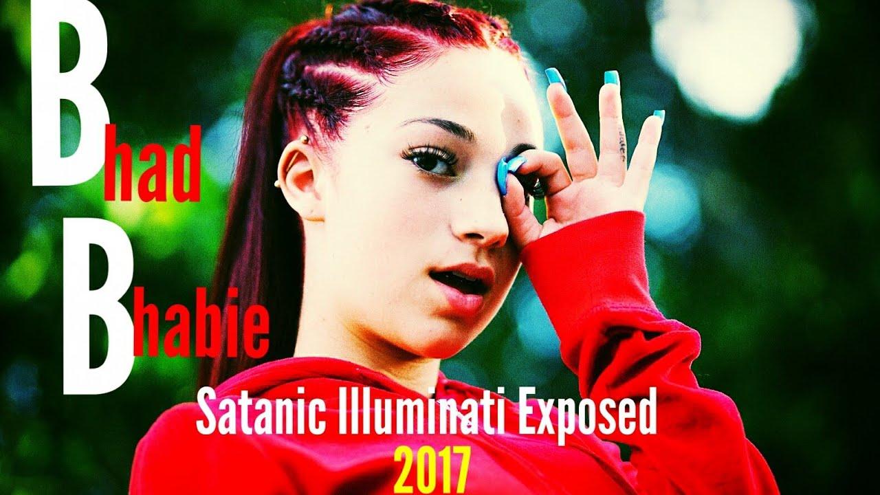 Satanic Iphone Wallpaper Bhad Bhabie Satanic Illuminati Exposed 2017 Youtube