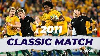 FULL REPLAY | 2011 TriNations: Wallabies vs All Blacks