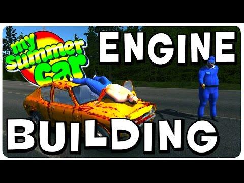 My Summer Car - Engine Building Walkthrough (Part 1) - Tutorial Gameplay - 동영상