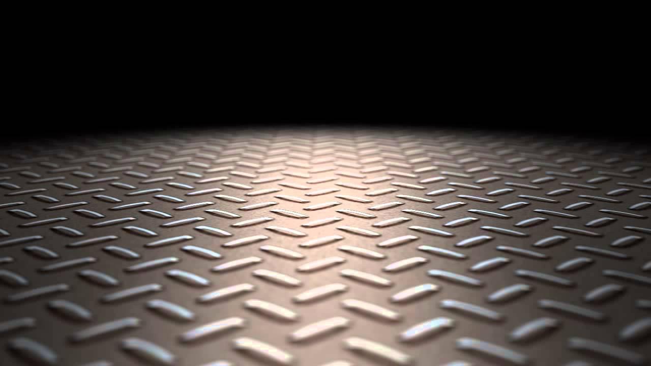 Industrial metal floor loop youtube for Aluminum flooring