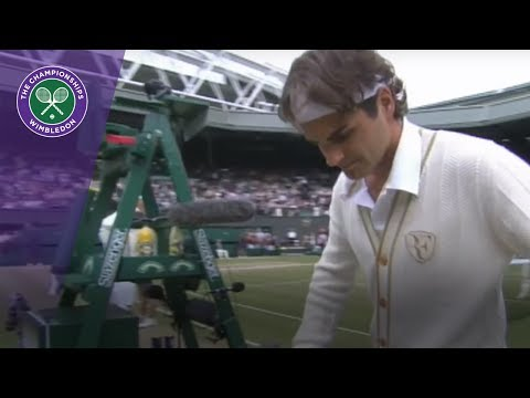 Wimbledon 2017 - The famous walk out for the final