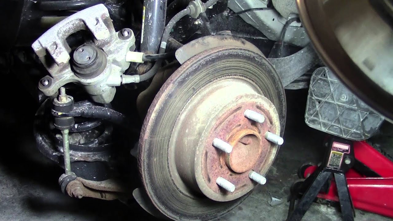 2013 FORD ESCAPE How to Change REAR Brakes and ROTORS DIY Step by Step  YouTube