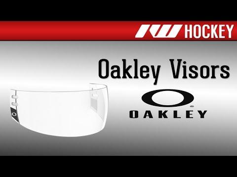 Oakley Hockey Visors Overview