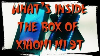 XIAOMI MI 9T WHAT'S IN THE BOX - UNBOXING