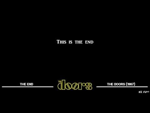 Lyrics for The End - The Doors