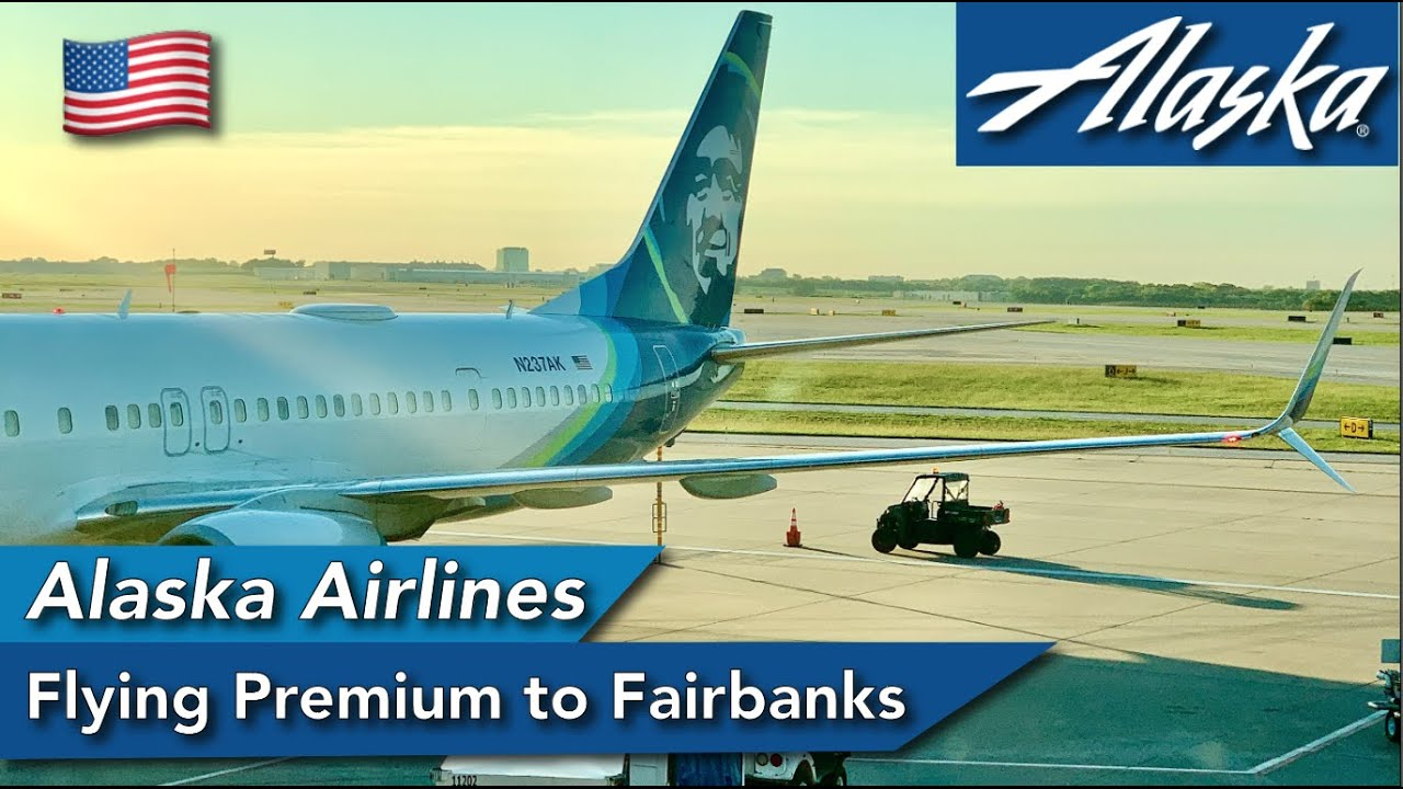 Flying between Seattle and Fairbanks with Alaska Airlines Premium Economy