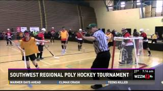 Southwest Region Poly Hockey Tournament Preview on WZZM