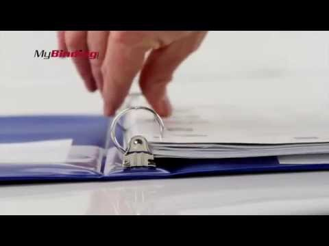 Wilson Jones Basic Opaque Round Ring Binder Demo