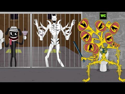 siren-head-gold-police-with-scp-096,-cartoon-dog-in-jail---roblox-piggy-animation---gv-studio
