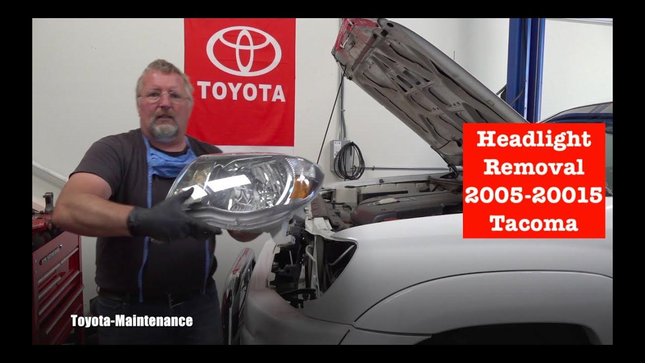 How to remove headlight on 2005-2015 Toyota Tacoma