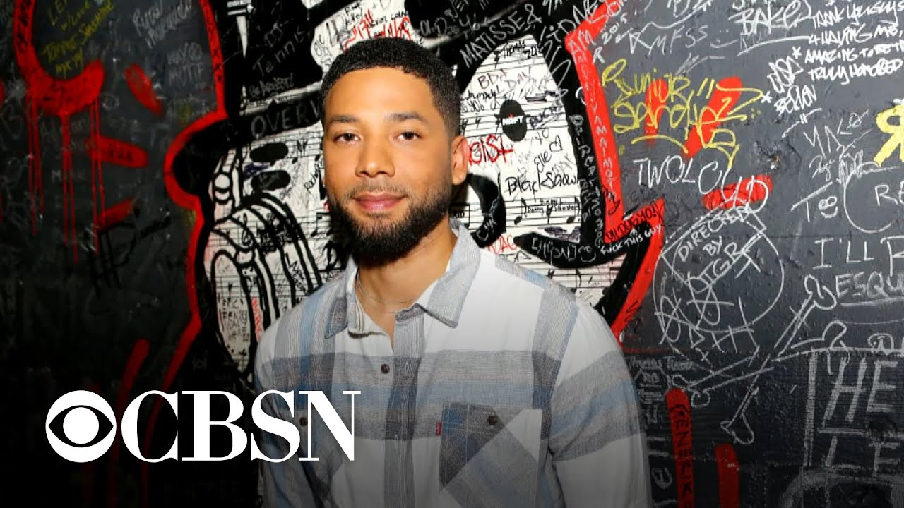 Jussie Smollett turned himself in, charged with filing false police report