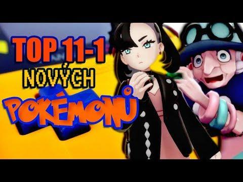 TOP 11-1 - Nových Pokémonů