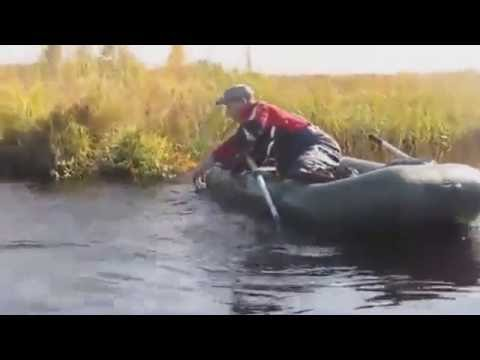 казус на рыбалке видео