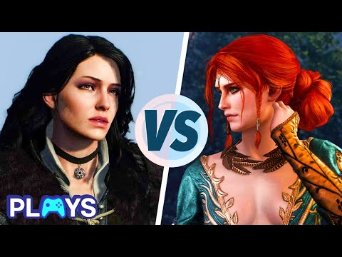 Yennefer Vs. Triss | MojoPlays