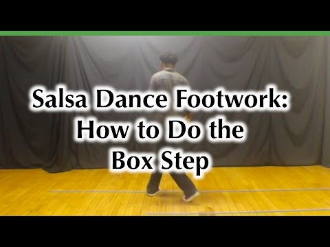 Salsa Dance Footwork Shines - How to do the Box Step