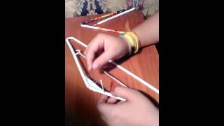 How to make a bow and arrow (tara and kale )