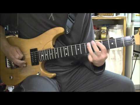 EXTREME  PORNOGRAFFITTI  guitar cover