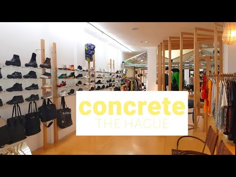 Concrete, The Hague | You need to shop here!