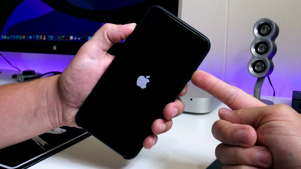 HOW To Fix STUCK AT APPLE LOGO ENDLESS REBOOT Trick iOS 13 iPhone, iPod &  iPad