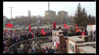 Митинг  КПРФ г Балаково 22 марта 2015г(, 2015-03-24T05:52:19.000Z)
