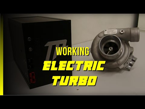 TorqAmp Electric Supercharger - YouTube