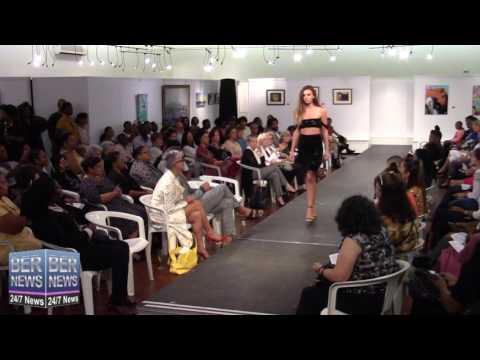 Mo'Nique Stevens At Bermuda Fashion Collective, November 3 2016