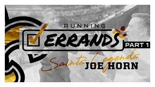 Joe Horn Levels Up on Jerry Rice VHS Tape | Running Errands with Saints Legends | Ep. 1
