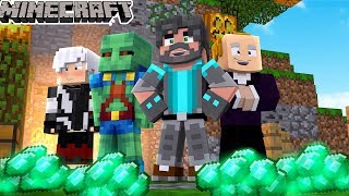 WE OWN THIS ISLAND!   Minecraft Bed Wars