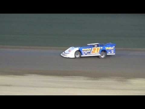 Late Model B Feature at Crystal Motor Speedway, Michigan on 07-22-2017